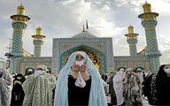 تصویر منتخب شبکه خبری فرانسوی از نماز عید فطر در ایران