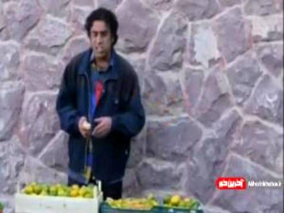 سکانسی خنده دار از فروش دارو در خیابان با بازی نصرالله رادش +فیلم