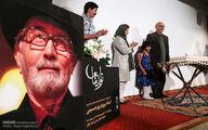 عکس: کیک تولد ۷۵ سالگی پرویز پورحسینی