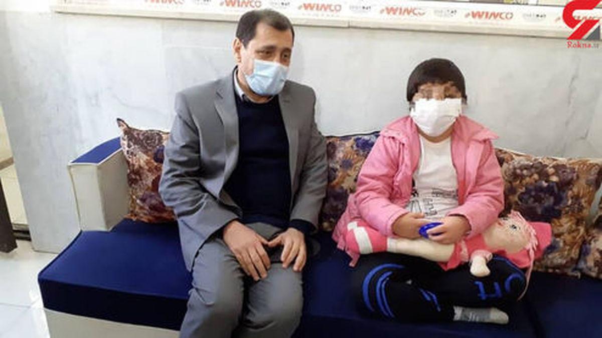 فیلم تکان دهنده کودک آزاری کودک معلول در قزوین +عکس و فیلم