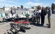 لاشه خودروی انتحاری حمله تروریستی چابهار +عکس