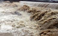 هشدار جدی هواشناسی/احتمال بالا آمدن ناگهانی سطح آب رودخانهها