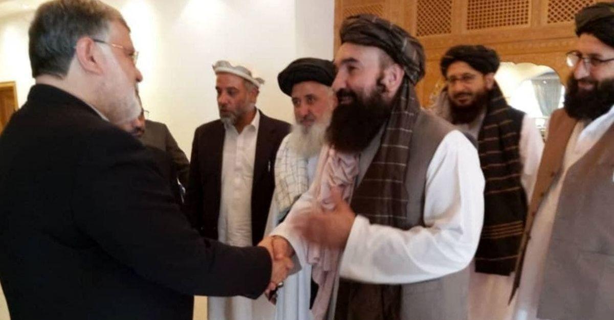 مذاکرات استاندارخراسان رضوی با مقامات طالبان +عکس