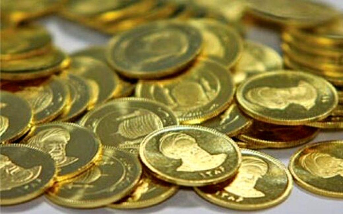 کاهش ۴۲۰ هزار تومانی قیمت سکه