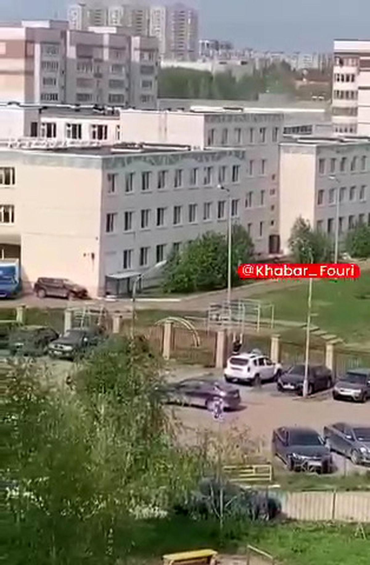 گروگانگیری مرگبار در مدرسه ای در روسیه با 9 کشته +فیلم