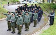 عکس: رژه نظامی سربازان یاسر الحبیب در انگلیس