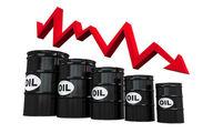سقوط قیمت نفت به ۵ درصد رسید