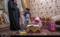 تصاویر: مادران درگیر تحصیل دانش آموزان در خانه