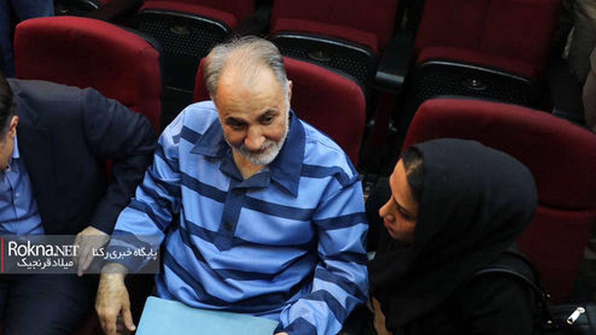عکس های دیده نشده از رفتارهای نجفی در جلسه دادگاه!