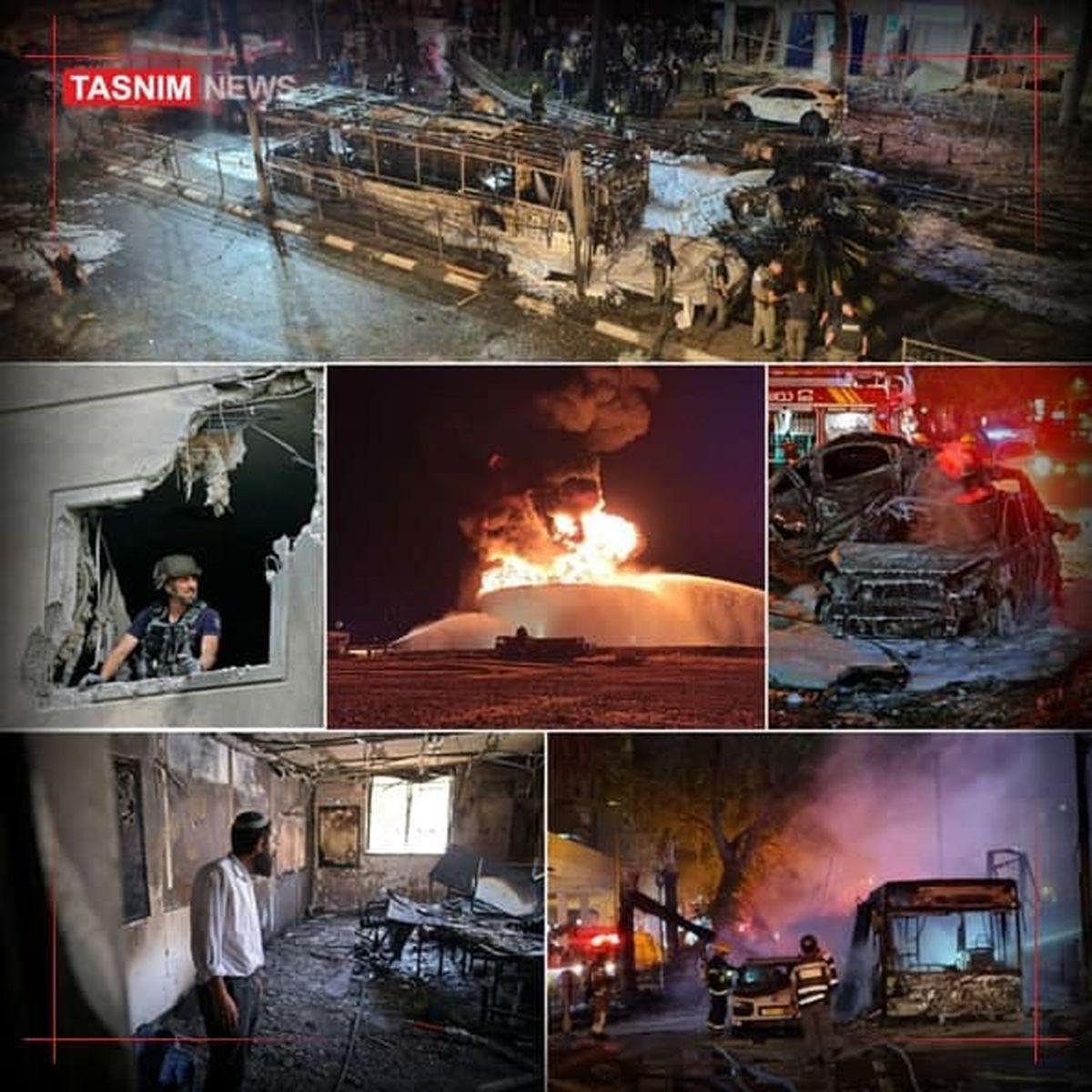 روزنامه صهیونیستی: آنچه دیشب رخ داد، یک دهم قدرت حزبالله بود