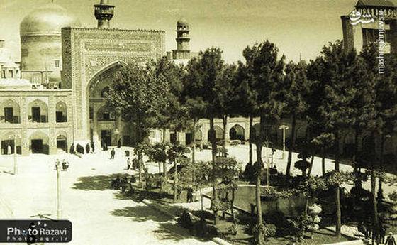 تصاویر قدیمی از حرم امام رضا(ع)