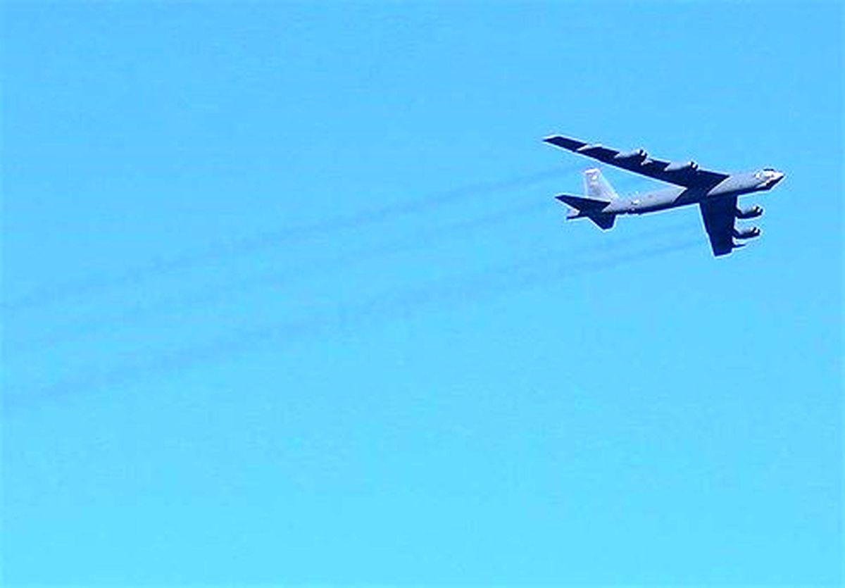 پرواز جنگندههای روسیه برای دور کردن بمبافکنهای آمریکایی