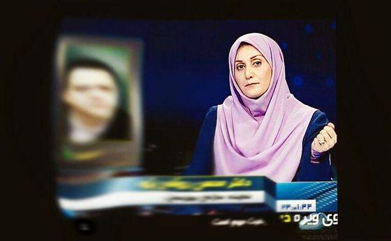 «ادابازی» صدای مجری زن شبکه خبر را در آورد! +عکس