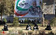 تصاویر: گلزار شهدای کرمان در سالروز شهادت سردار سلیمانی