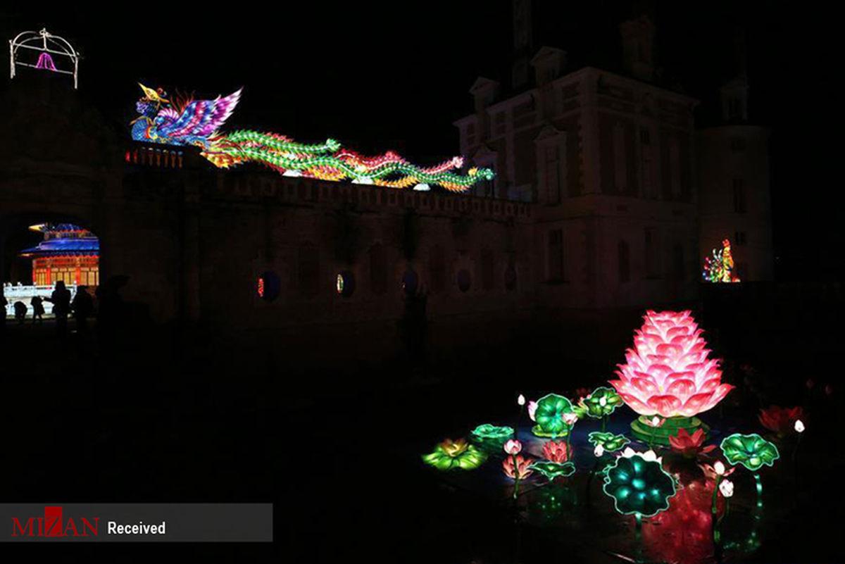تصاویر: جشنواره فانوسهای چینی در فرانسه