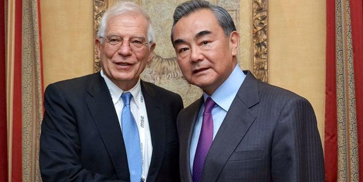 بورل خواستار دیپلماسی برجامی با ایران شد