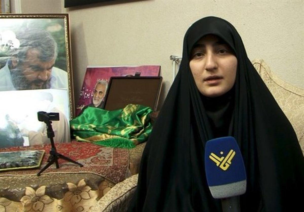 زینب سلیمانی در گفتگو با شبکه المیادین چه گفت؟