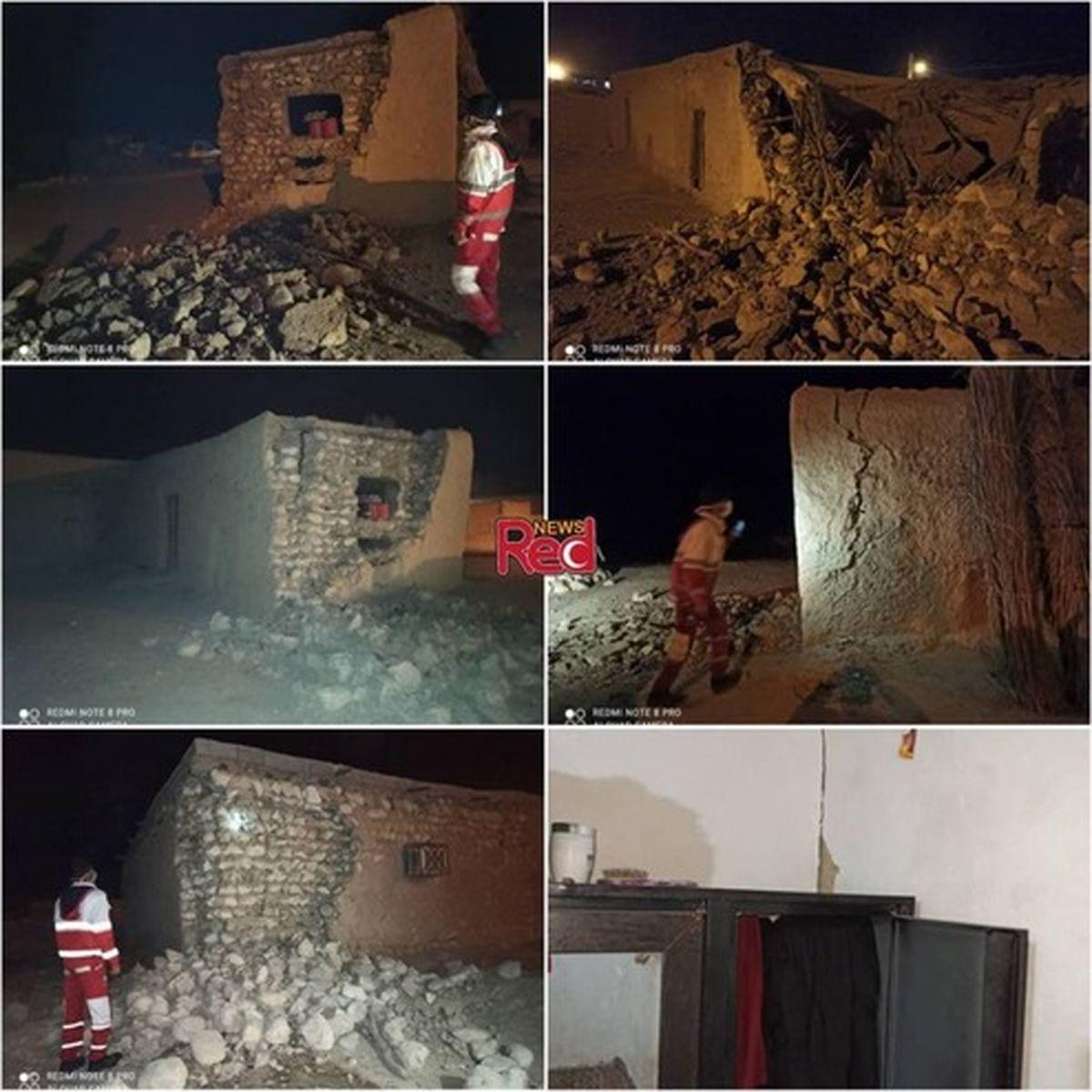 اولین تصاویر از زلزله ۵.۵ ریشتری امروز هرمزگان