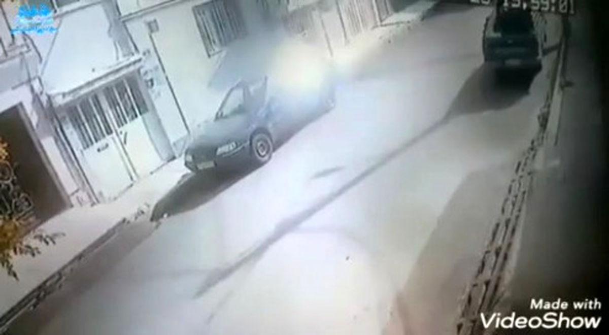 سارقان، گوشی یک نوجوان اسلامشهری را در روز روشن ربودند +فیلم