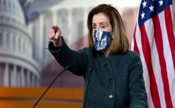نانسی پلوسی: دشمن داخل مجلس نمایندگان است