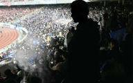 «گلزنی» تماشاگران روی سکوهای ورزشگاه آزادی!