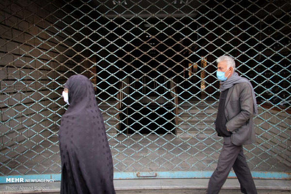 تصاویر: محدودیتهای جدید کرونایی در شهر سمنان
