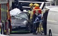 برخورد مرگبار کامیون با خودروی پلیس در استرالیا +عکس