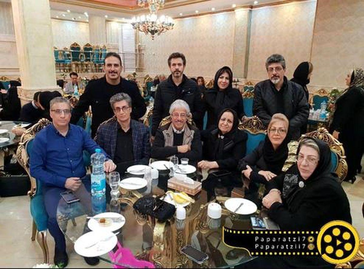 ۹خواهر و برادر علیرضا خمسه را دیده اید +عکس