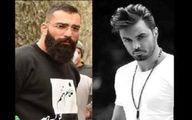 حمید صفت و بازیگر جوان در باشگاه +عکس
