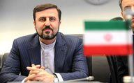 غریبآبادی: مادامی که تحریمها ادامه دارد، از ایران انتظار خویشتنداری نداشته باشید
