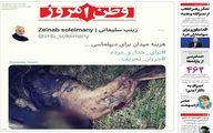 واکنش وطن امروز به انتشار فایل صوتی ظریف +عکس