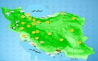 با ورود سامانه جدید بارشی، کدام استان ها بارندگی دارند؟