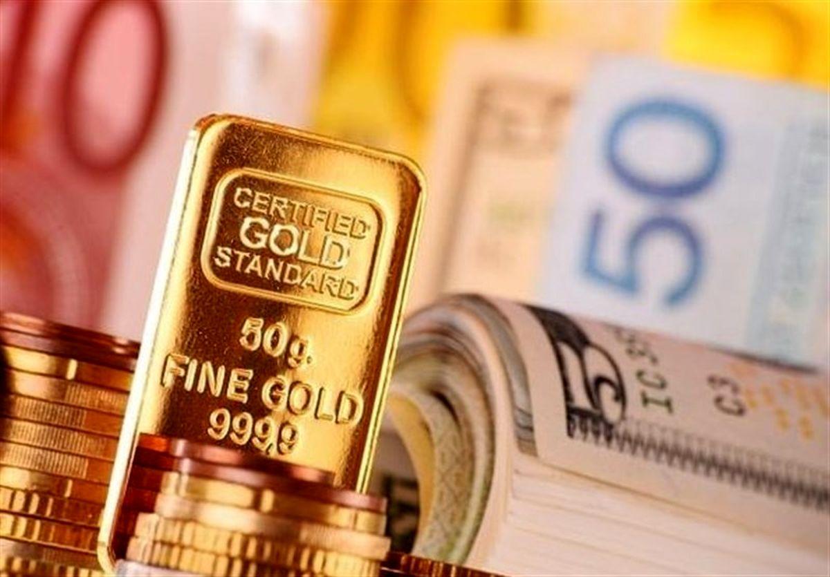 افزایش قیمت در بازار طلا و ارز/ ورود دلار به کانال ۲۳ هزاری