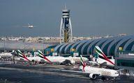 آخرین اخبار از  برخورد ۲ هواپیما در فرودگاه دبی