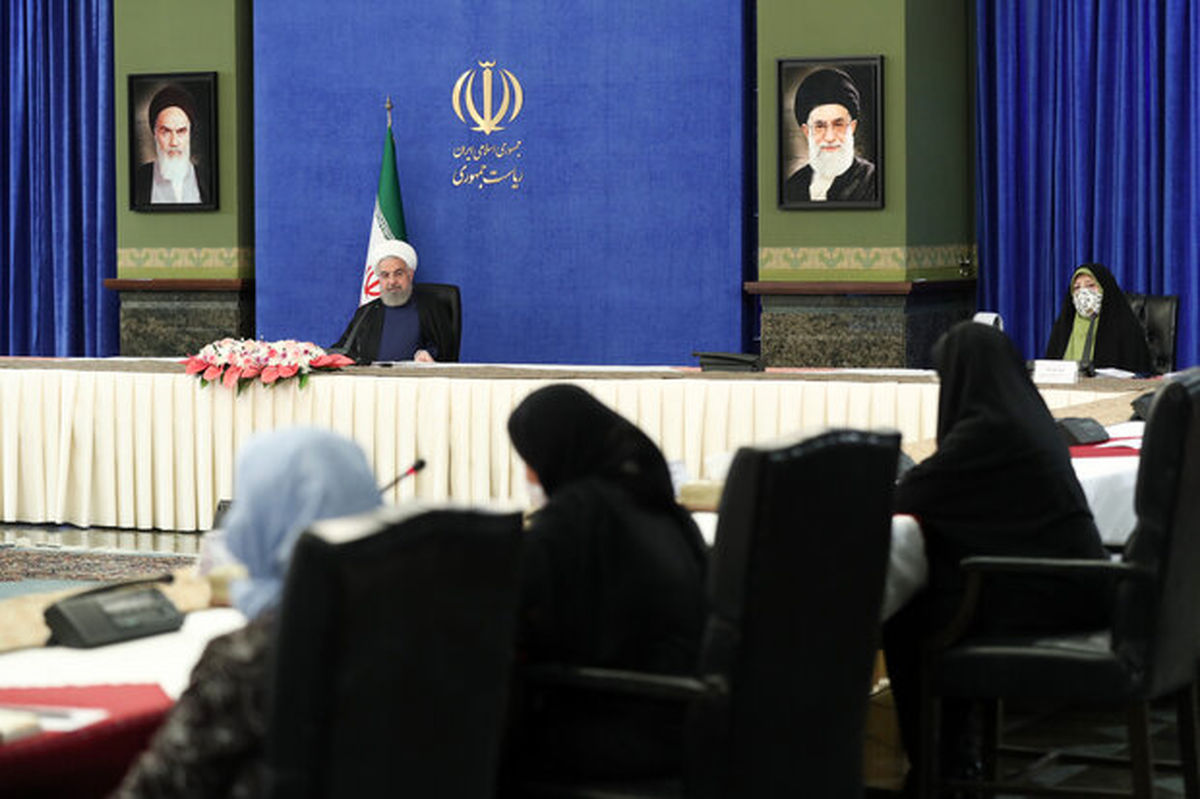 روحانی: علاقمند بودم که وزیر زن هم در کابینه داشته باشیم
