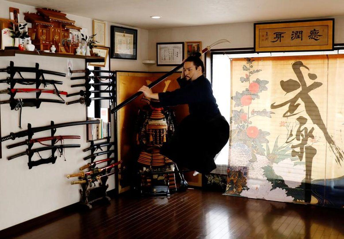 کلاس آنلاین هنرهای رزمی برای سامورایی ها!