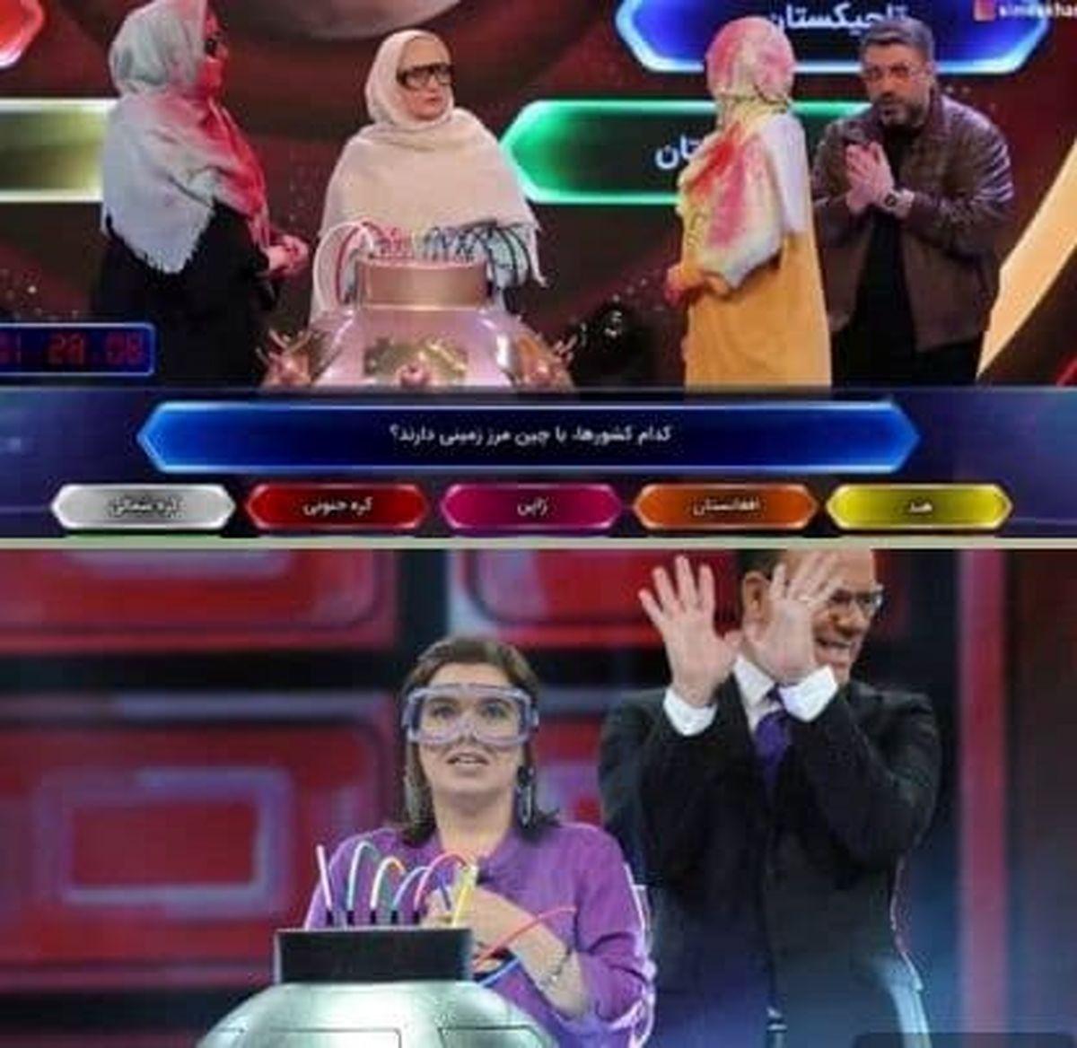 مسابقه تلویزیونی رضا رشیدپور جنجالی شد +عکس
