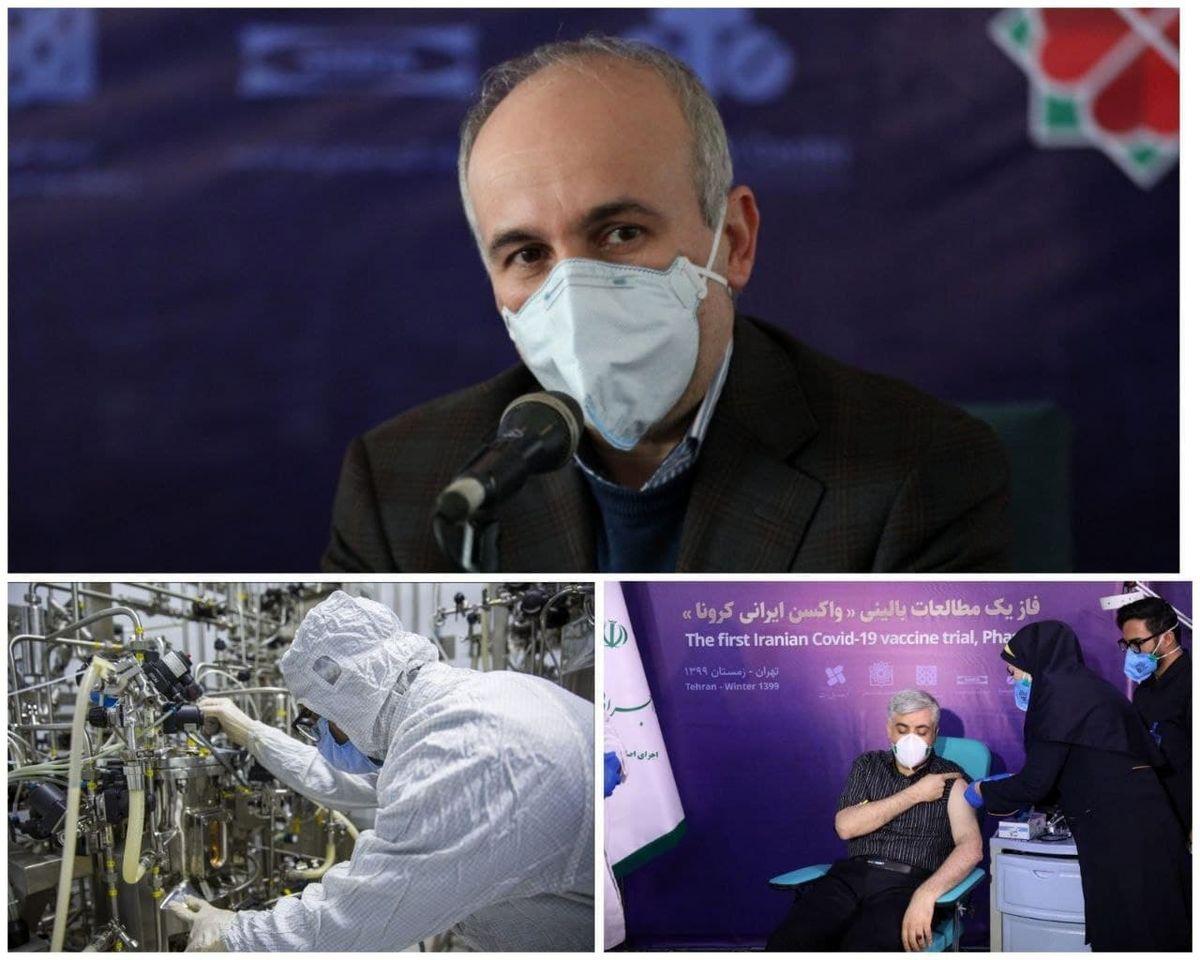 خبرهای خوب از پروژه تولید واکسن ایرانی کرونا