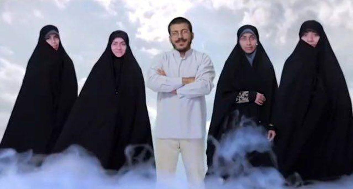 زایمان همزمان 2 زن روحانی 4 زنه به کمک هووهایشان! | روحانی: همسرانم به اذن الهی باهم باردار شدند
