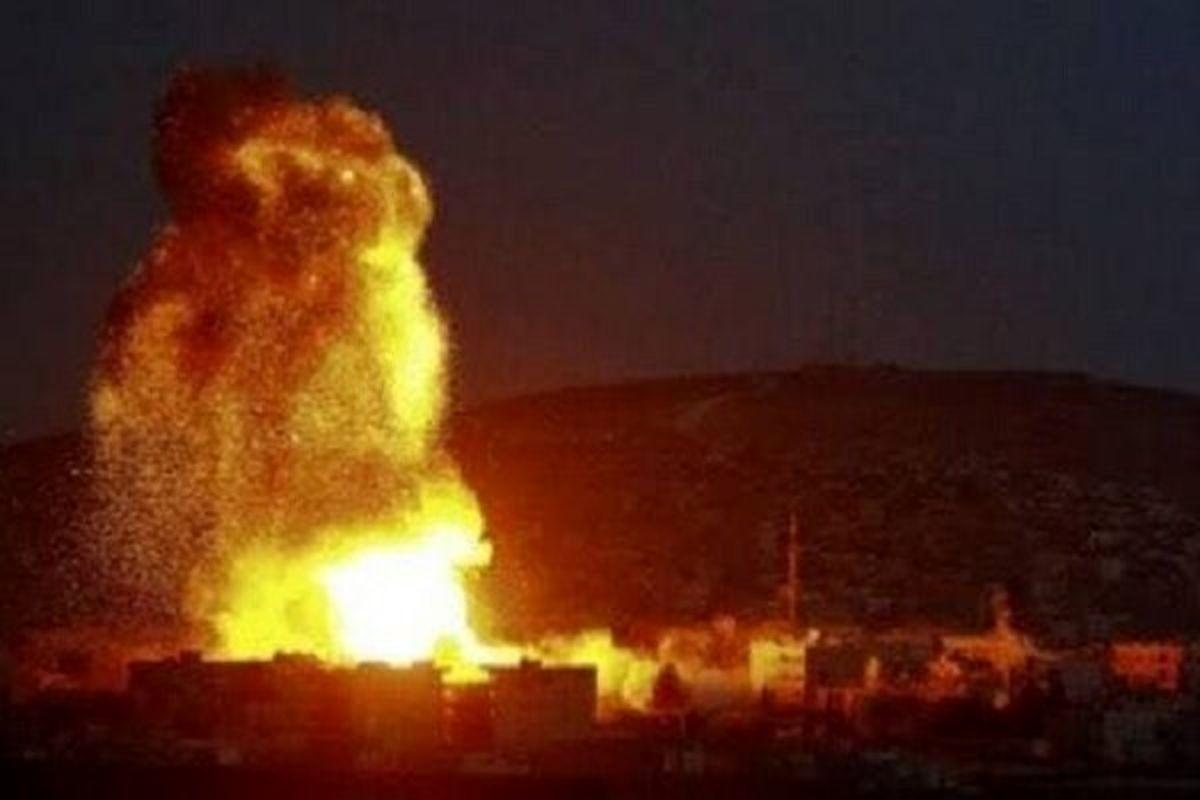 شنیده شدن صدای انفجارهایی در حلب
