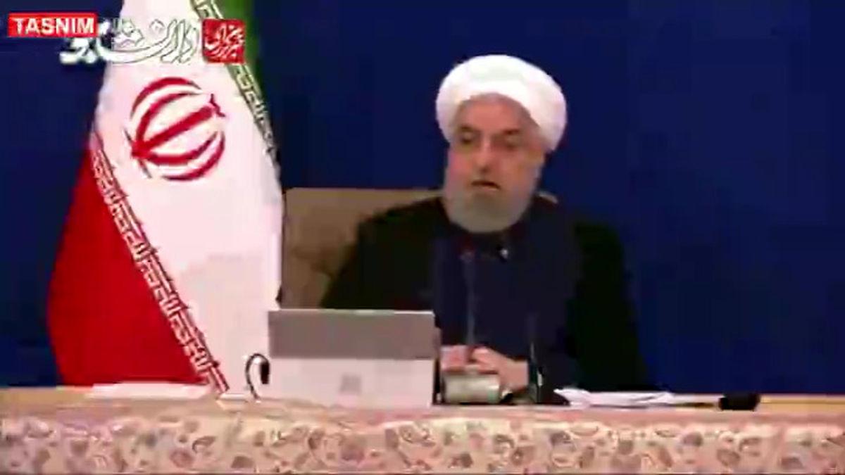 روحانی: میگویند دولت فقط به فکر مذاکره است، پس چه کسی پهپاد را سرنگون کرد؟!