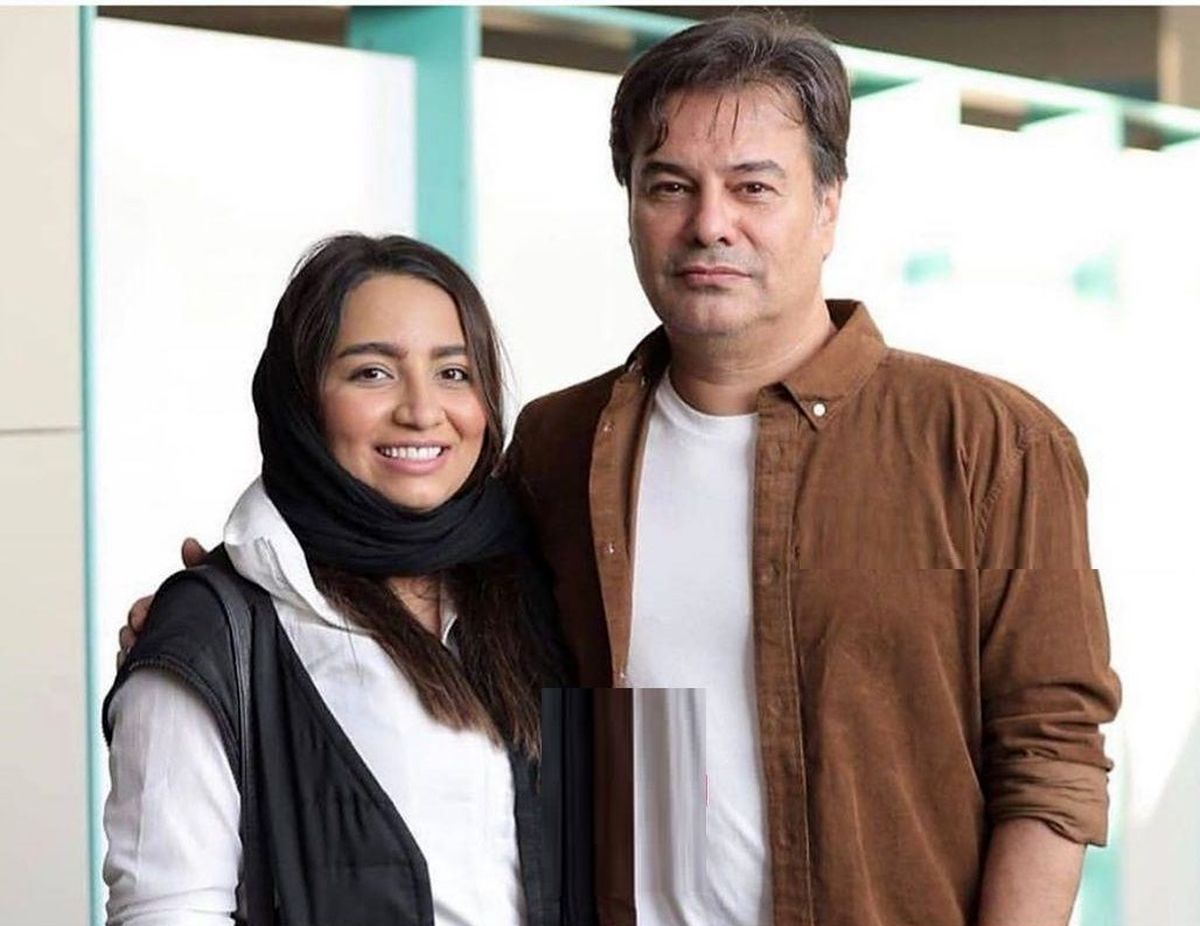جدیدترین عکس پیمان قاسم خانی و همسرش