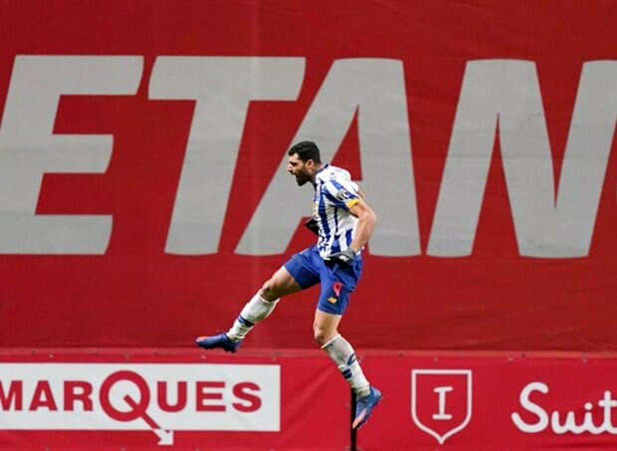 مهدی طارمی در ترکیب تیم منتخب لیگ پرتغال