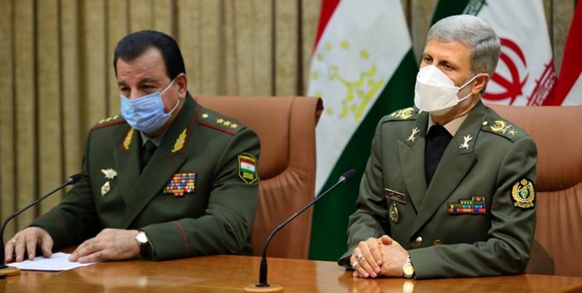 در دیدار وزرای دفاع ایران و تاجیکستان چه گذشت؟