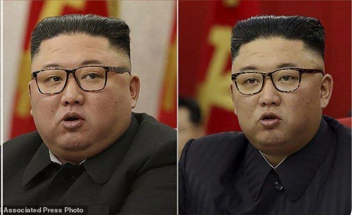لاغری عجیب کیم جونگ اون +عکس