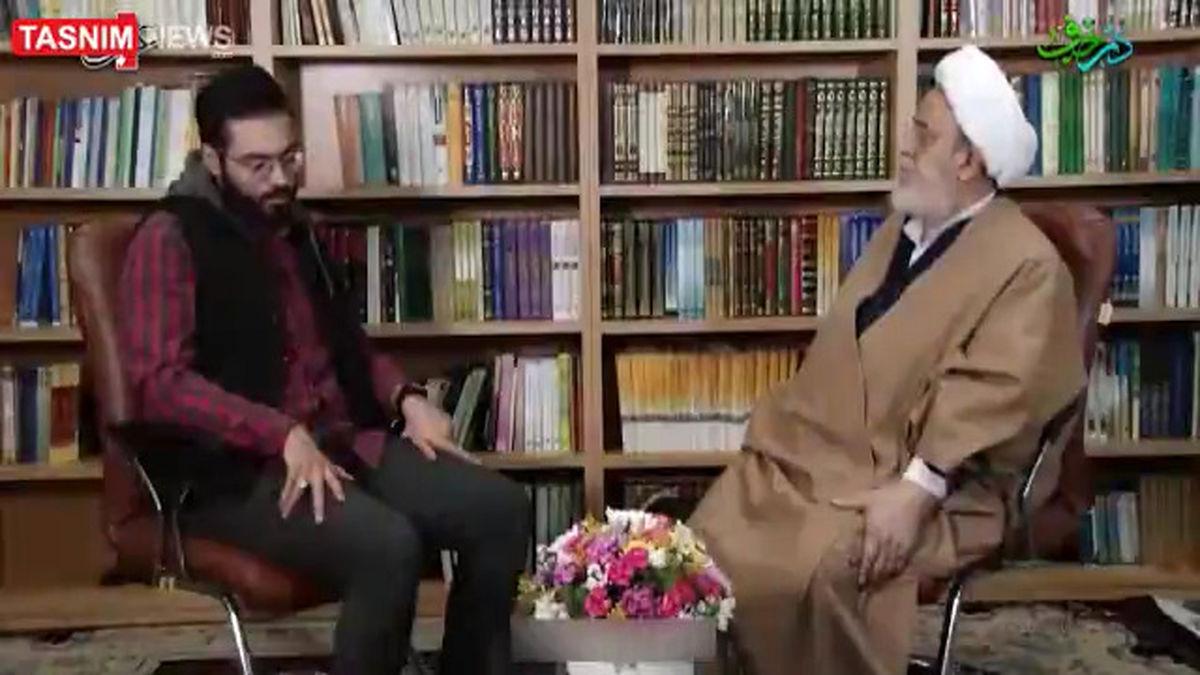 شیخ حسین انصاریان: داش مشتی بودن علی انصاریان به خاطر علی پروین بود