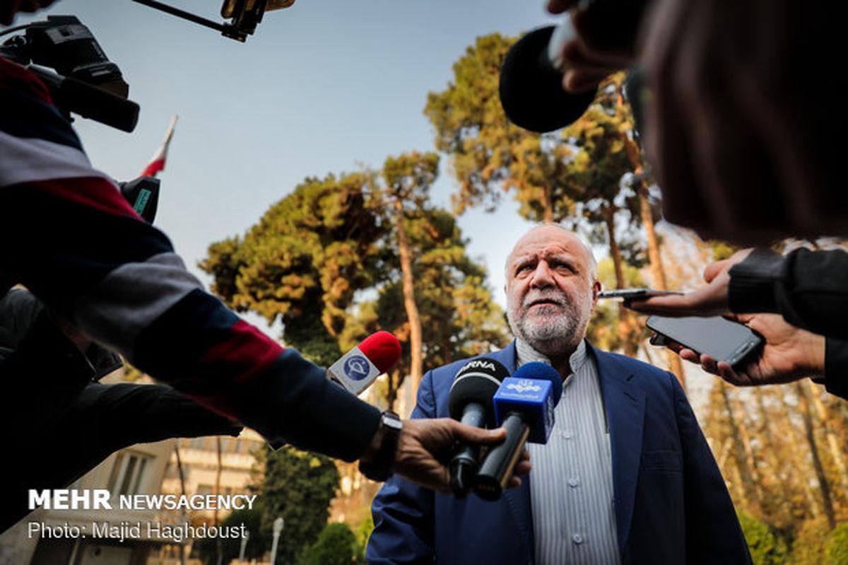 وزیر نفت: همچنان درباره تحریم نفت ایران حرف نمیزنم