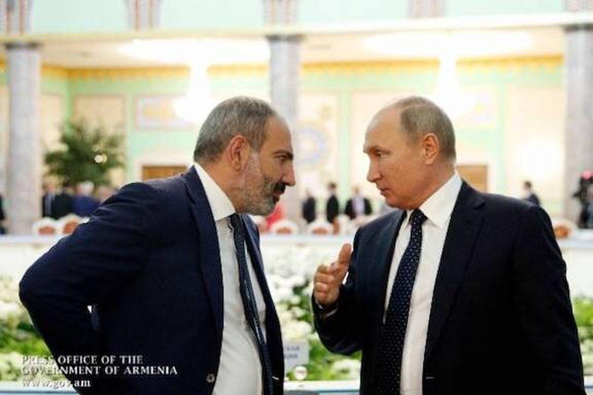 آخرین وضعیت قرهباغ در تماسی تلفنی پوتین و پاشینیان