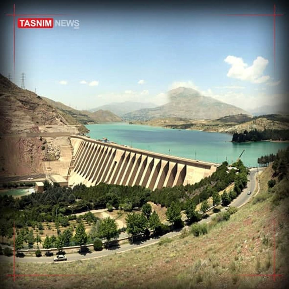 تهران به اندازه سد کرج و لتیان کمبود آب دارد