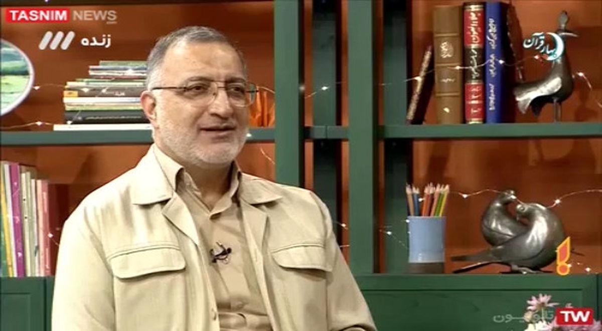 کنایه زاکانی به سخنان دیروز روحانی +فیلم
